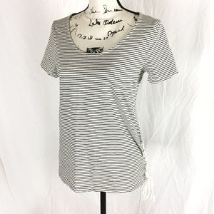 J. Crew Lace Up Tee